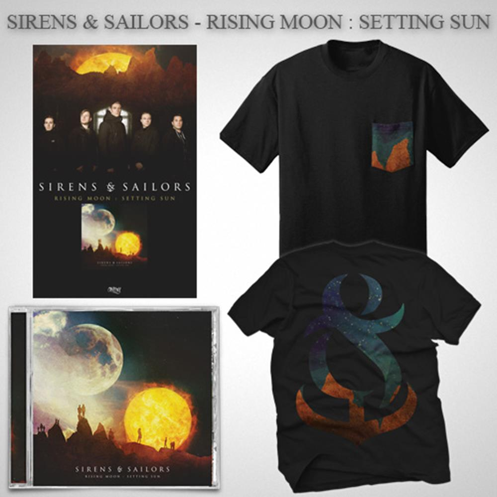 Rising Moon: Setting Sun CD + T-Shirt + Poster