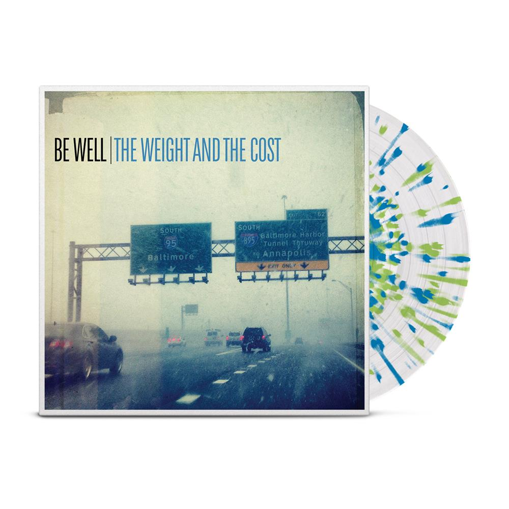 The Weight And The Cost Clear w/ Blue/Green Splatter