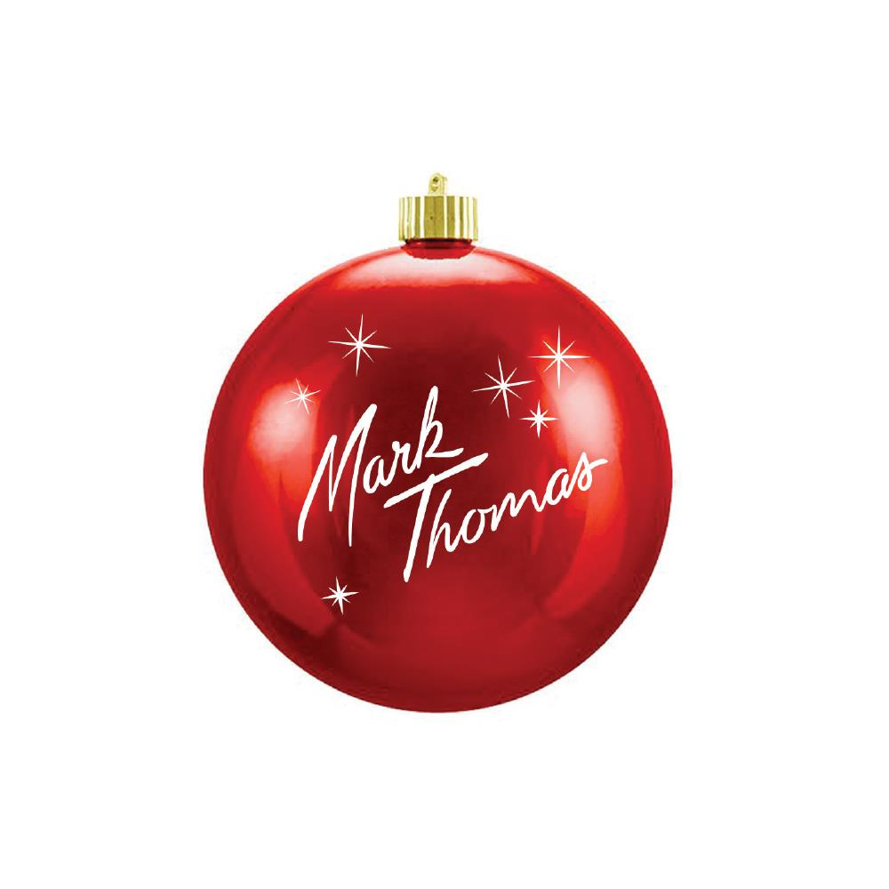 LOGO Red Ornament