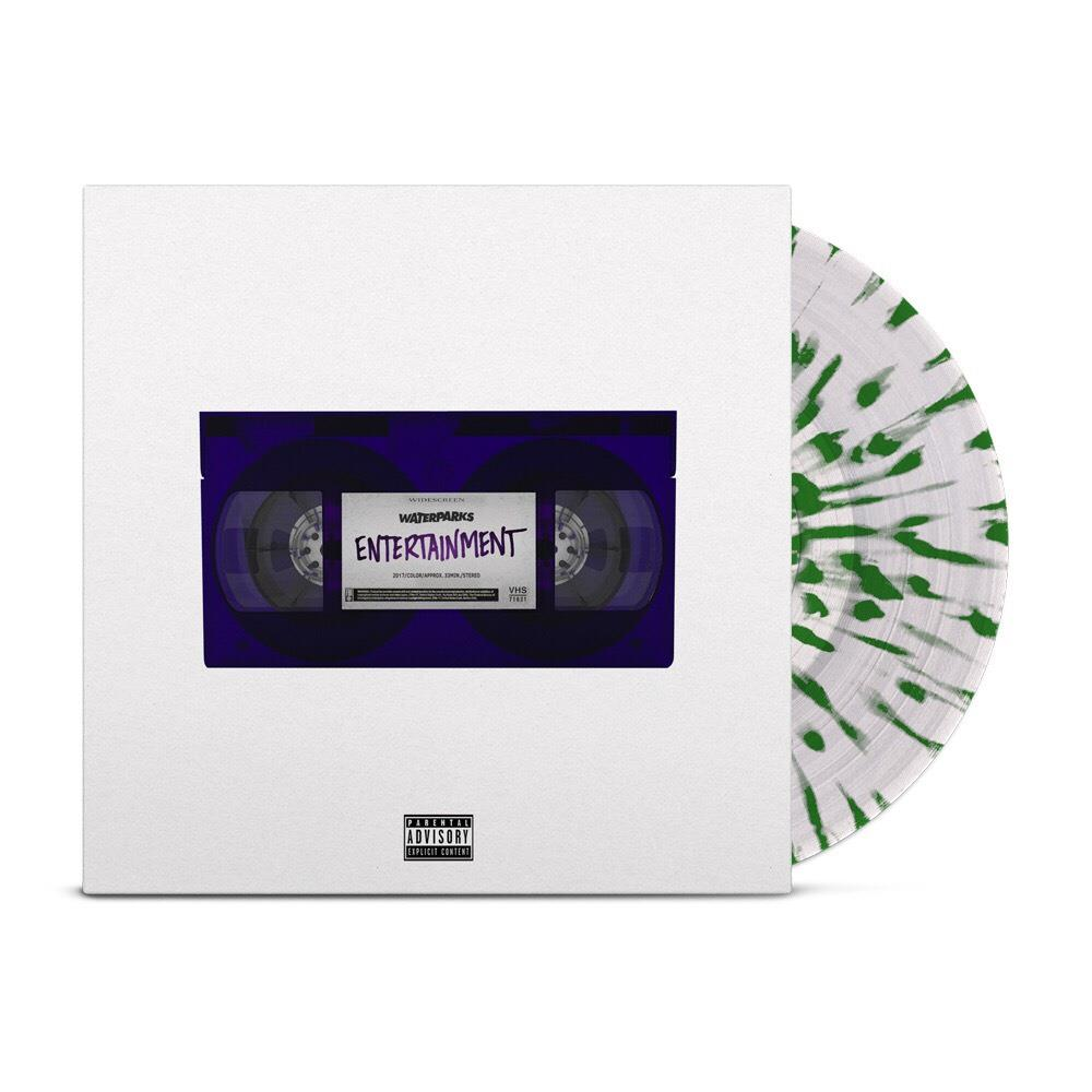 Entertainment Clear W Green Splatter Evr0 Waterparks