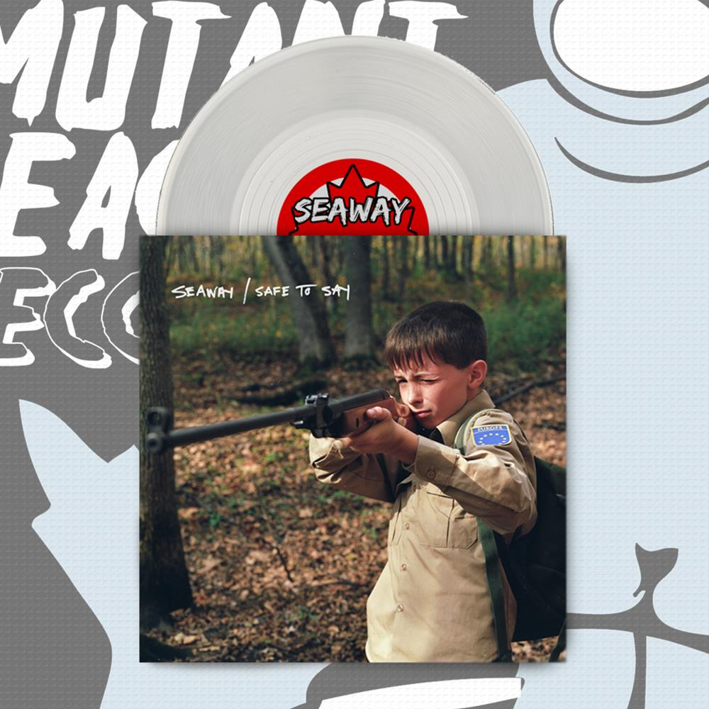 Seaway/Safe To Say - Split Clear 7 Inch