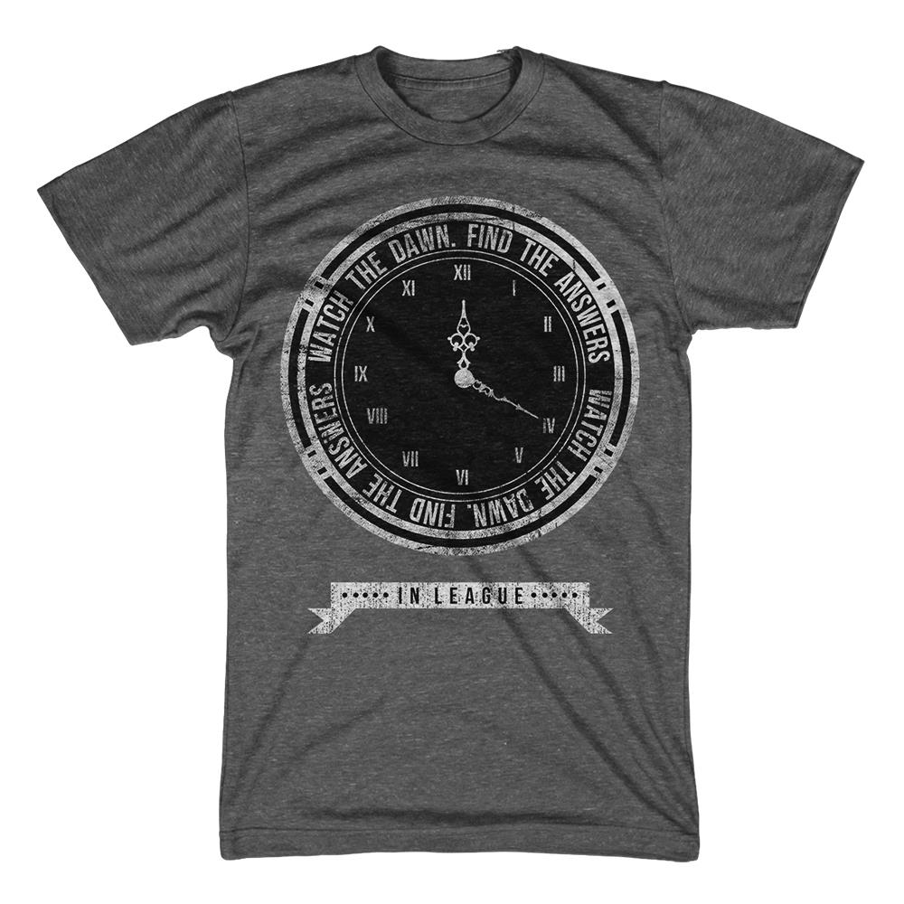 Clock Dark Heather