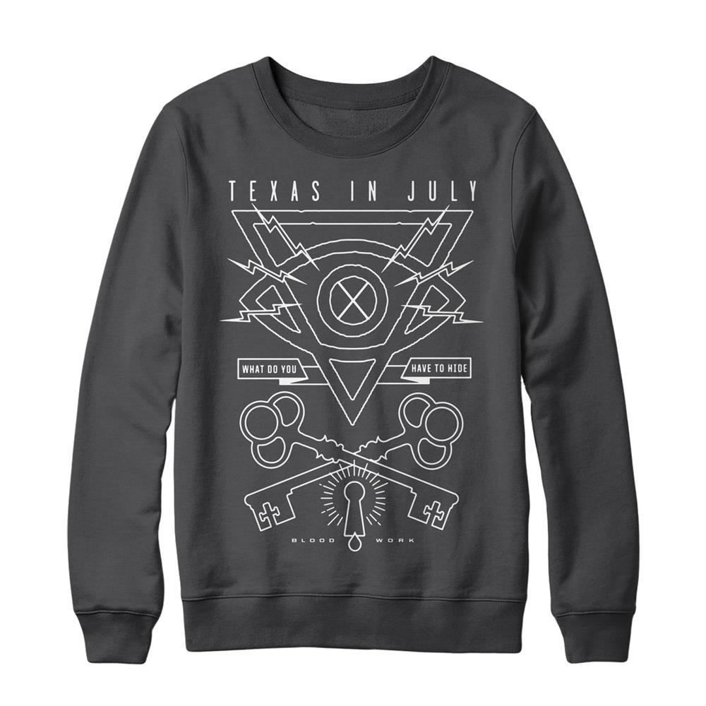 Void Charcoal Crewneck Sweatshirt