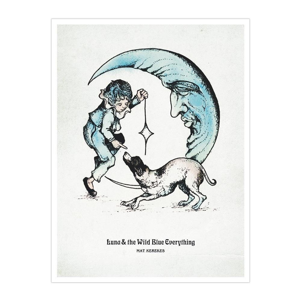 Luna & The Wild Blue Everything  Litho