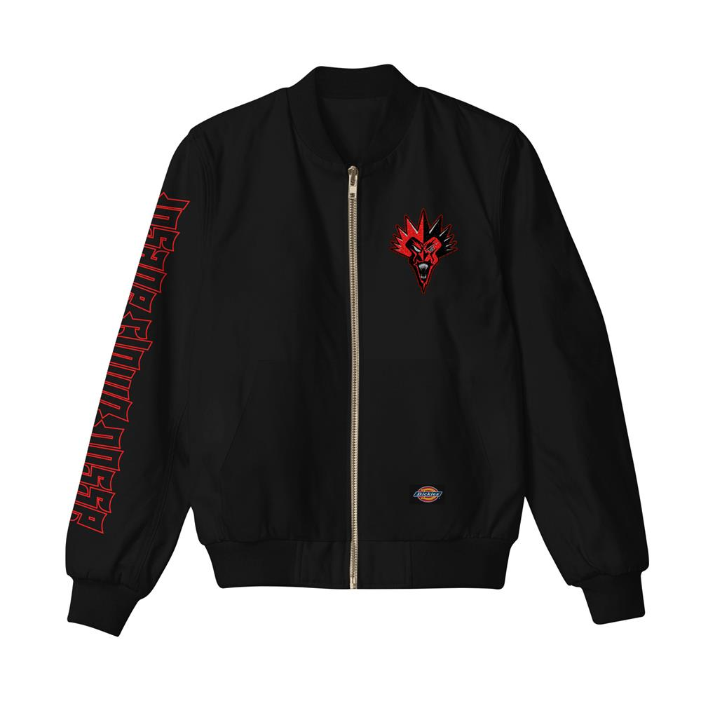 Red Fred Black Jacket