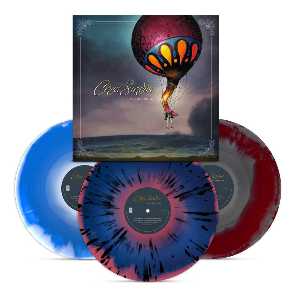 On Letting Go Deluxe  Vinyl 3Xlp