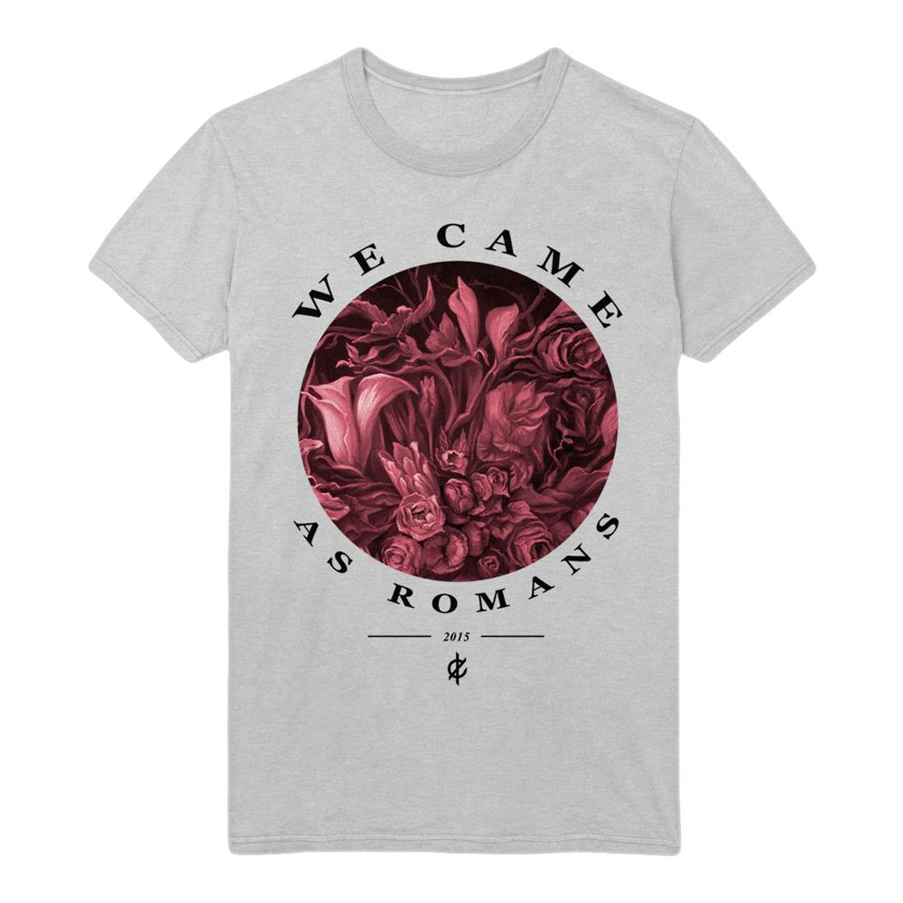 Flower Heather Grey T-Shirt