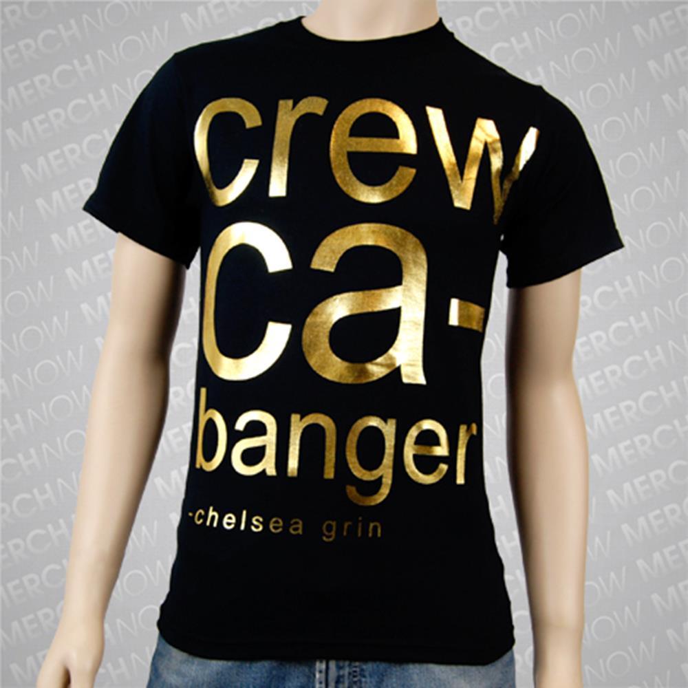 Crew Cabanger Gold Foil Black