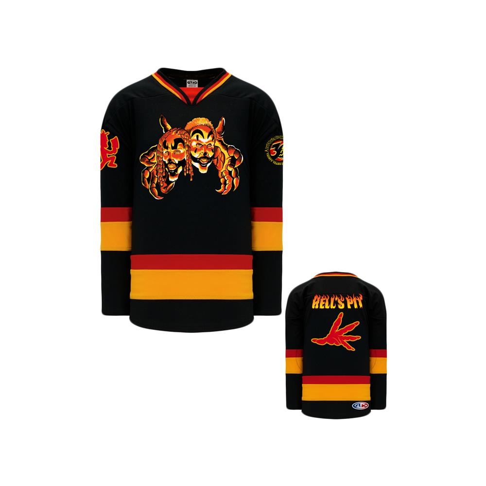 Hell's Pit Hands Red/Orange/Black Hockey