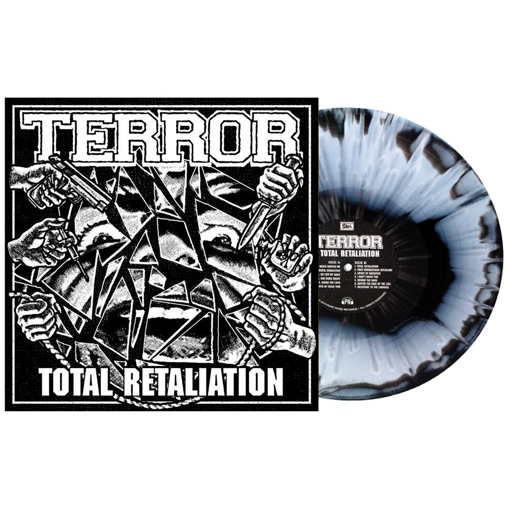 Total Retaliation Black/White W/ Splatter