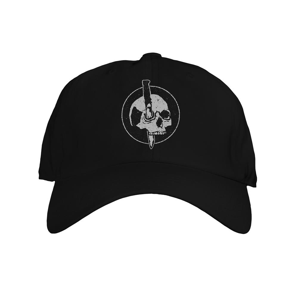 Skull Black Dad Hat