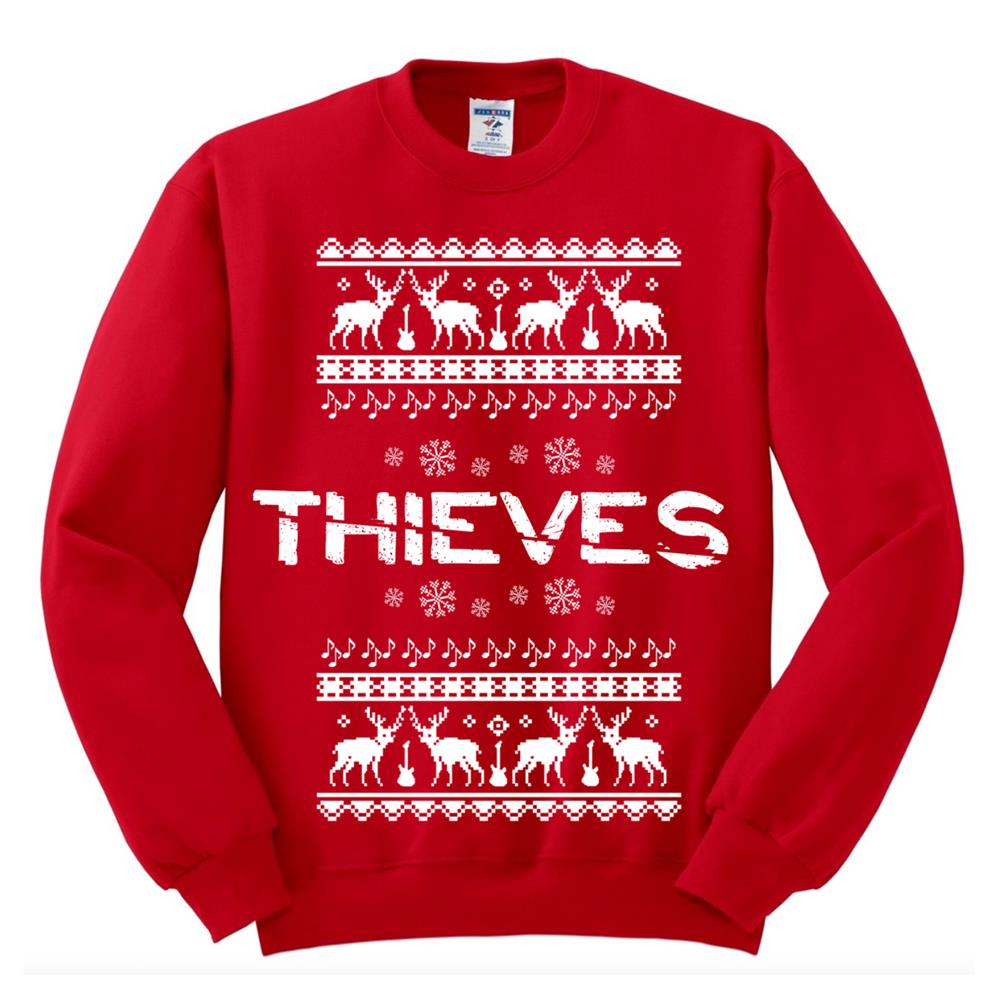 Xmas Sweater Red Crewneck