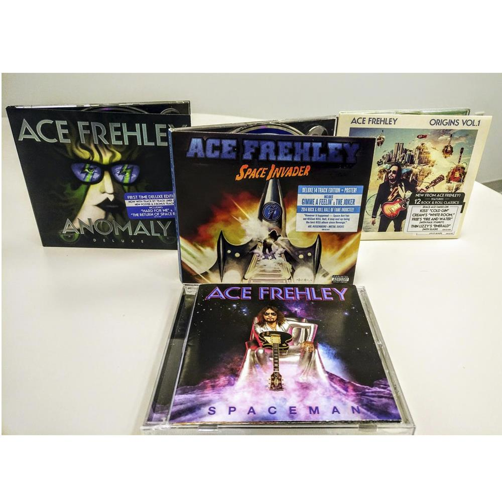 ACE FREHLEY - COMPLETE 4 CD BUNDLE