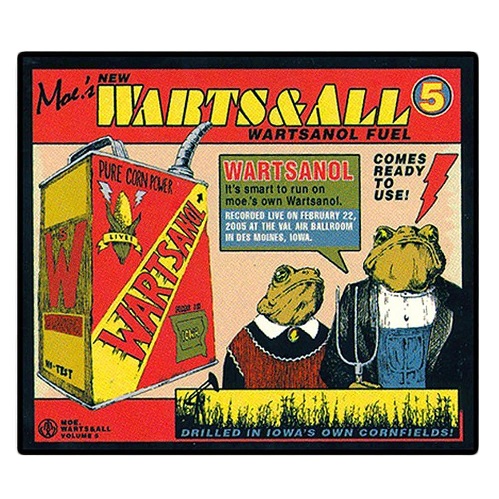 Warts & All 5 Sticker