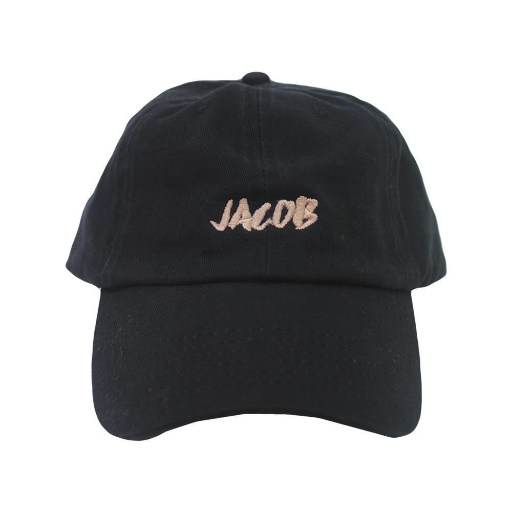 Gold Logo Black Dad Hat
