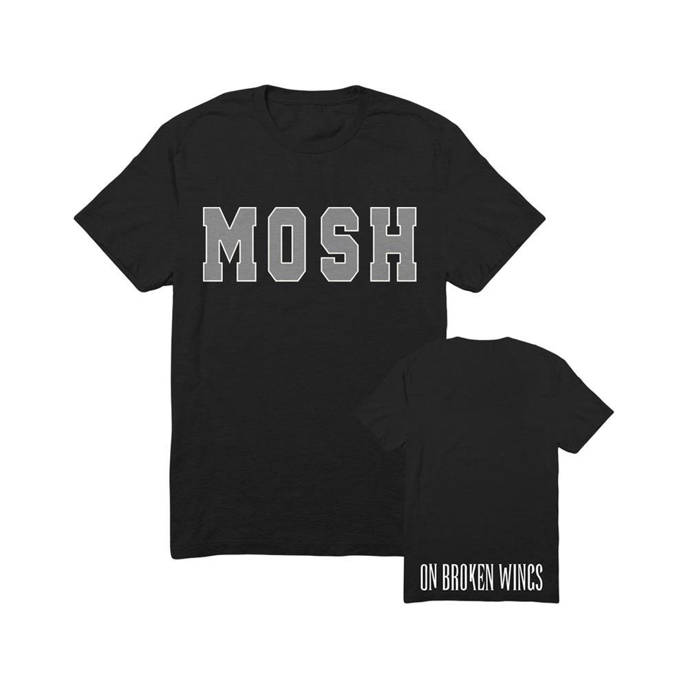 Grey Mosh Black