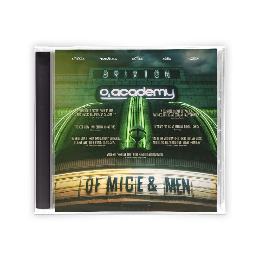 Live At Brixton CD/DVD