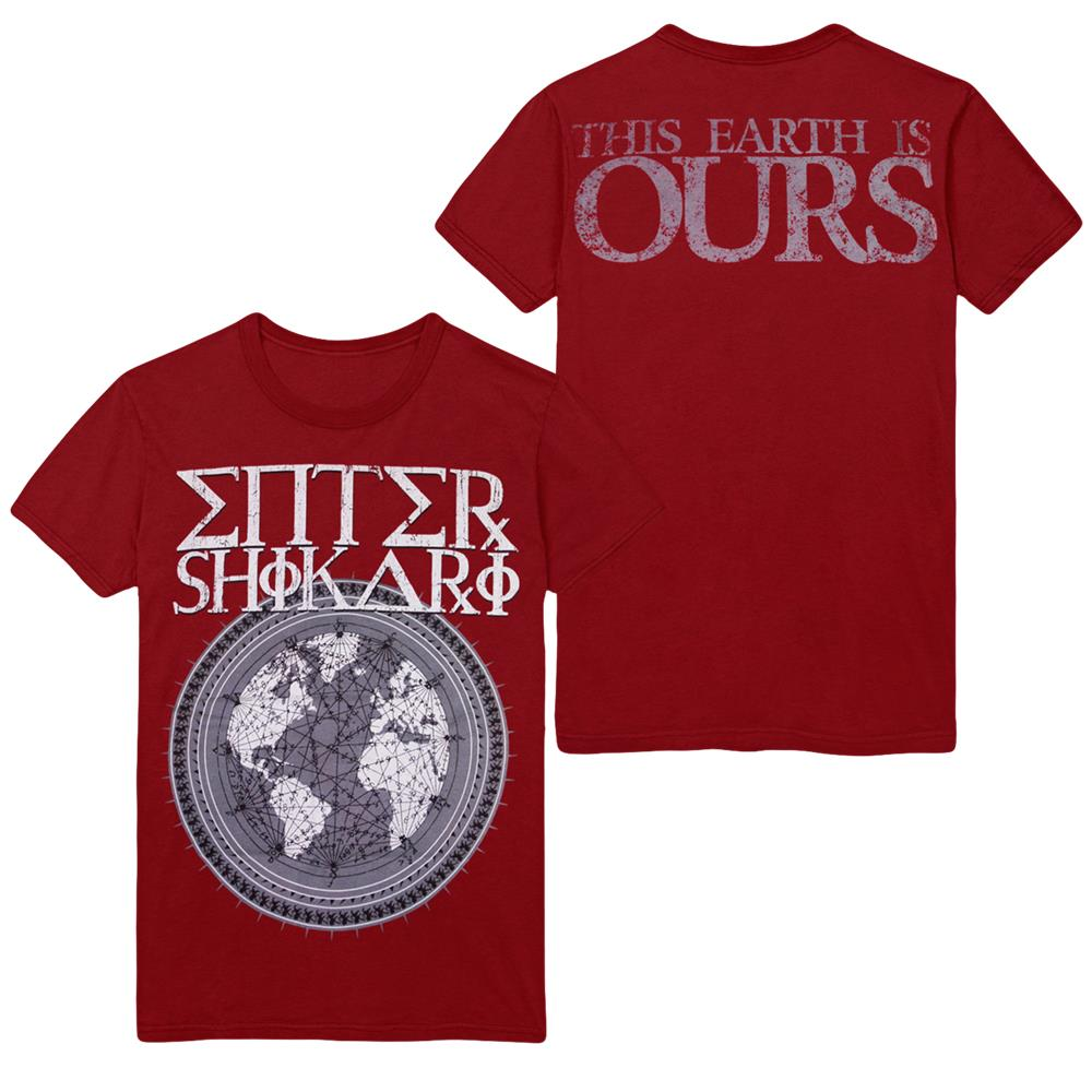 This Earth Is Ours Maroon