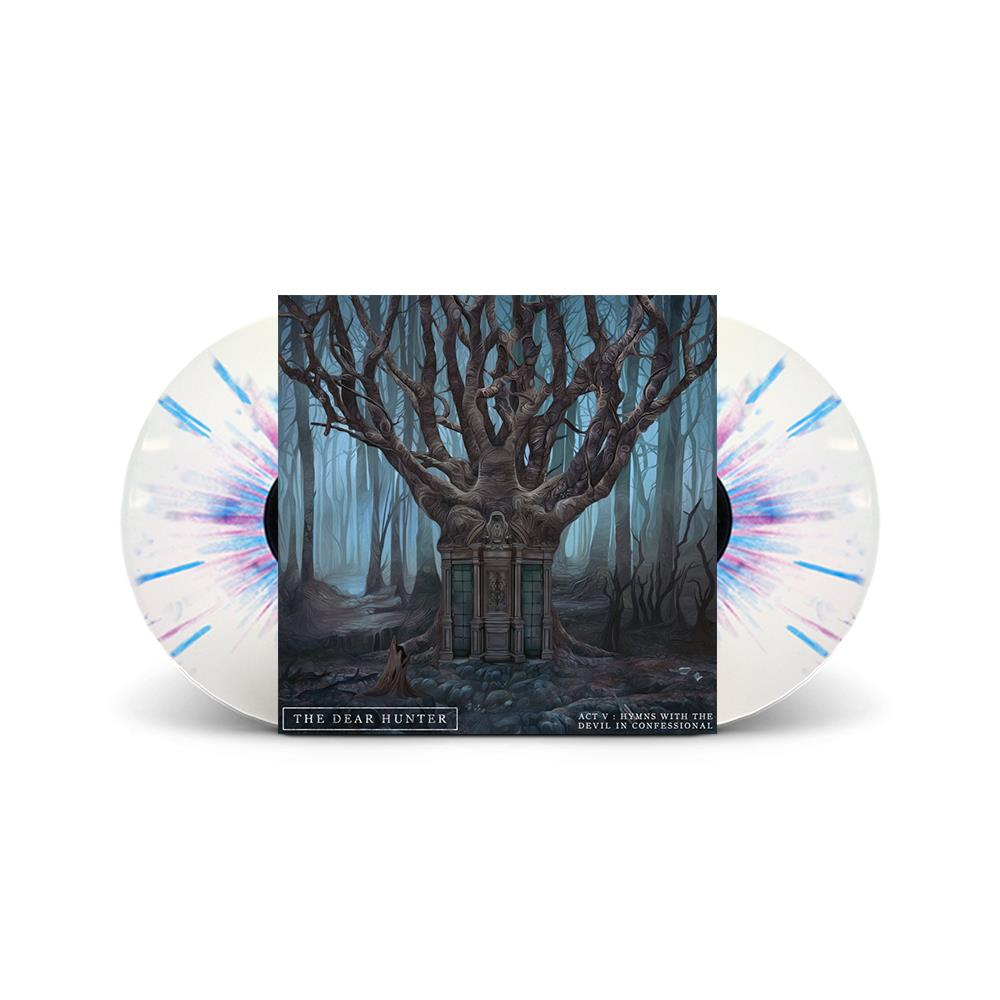 Act V: Hymns With The Devil In Confessional White w/ Purple And Blue Splatter 2X LP