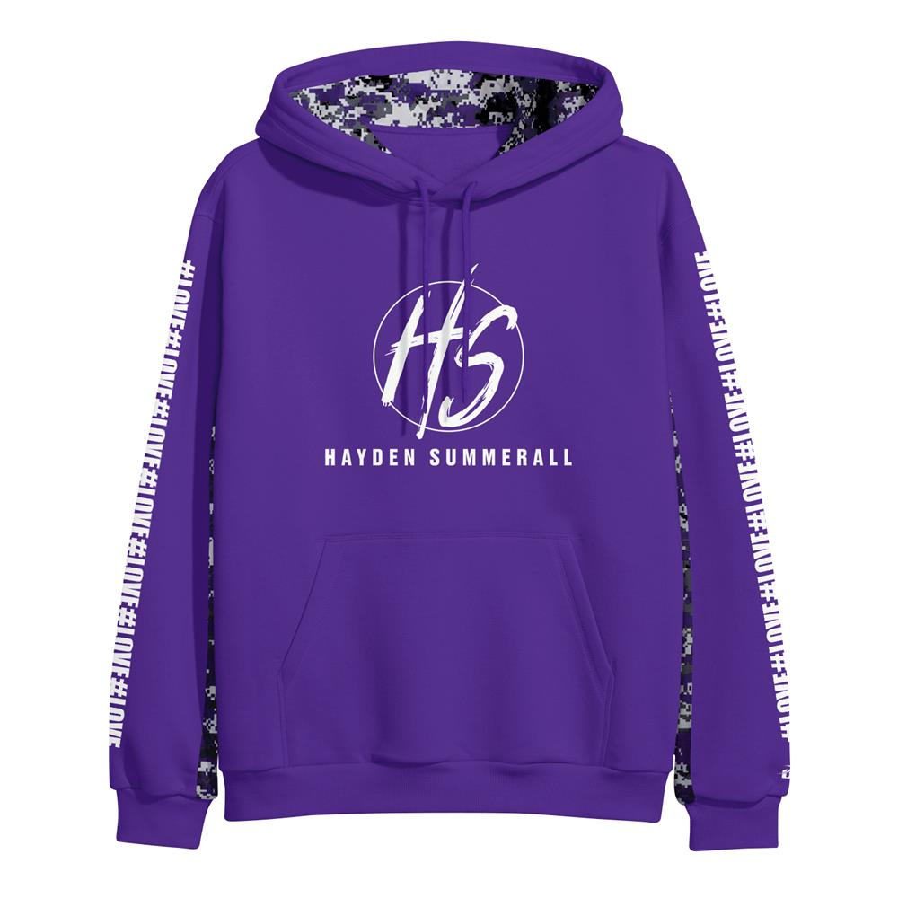 #LOVE Purple/Camo *Limited*