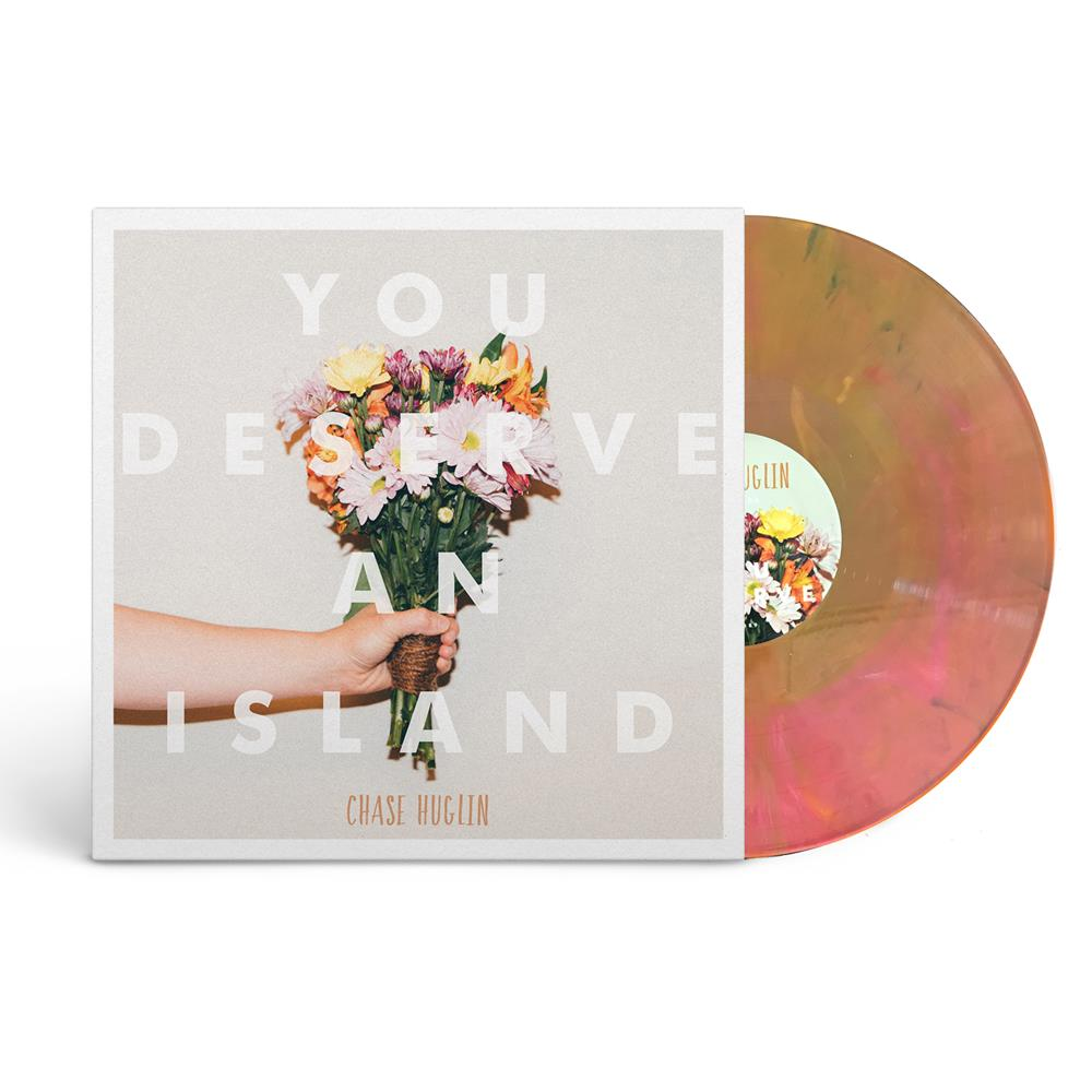 You Deserve An Island Pink/Orange LP + Download