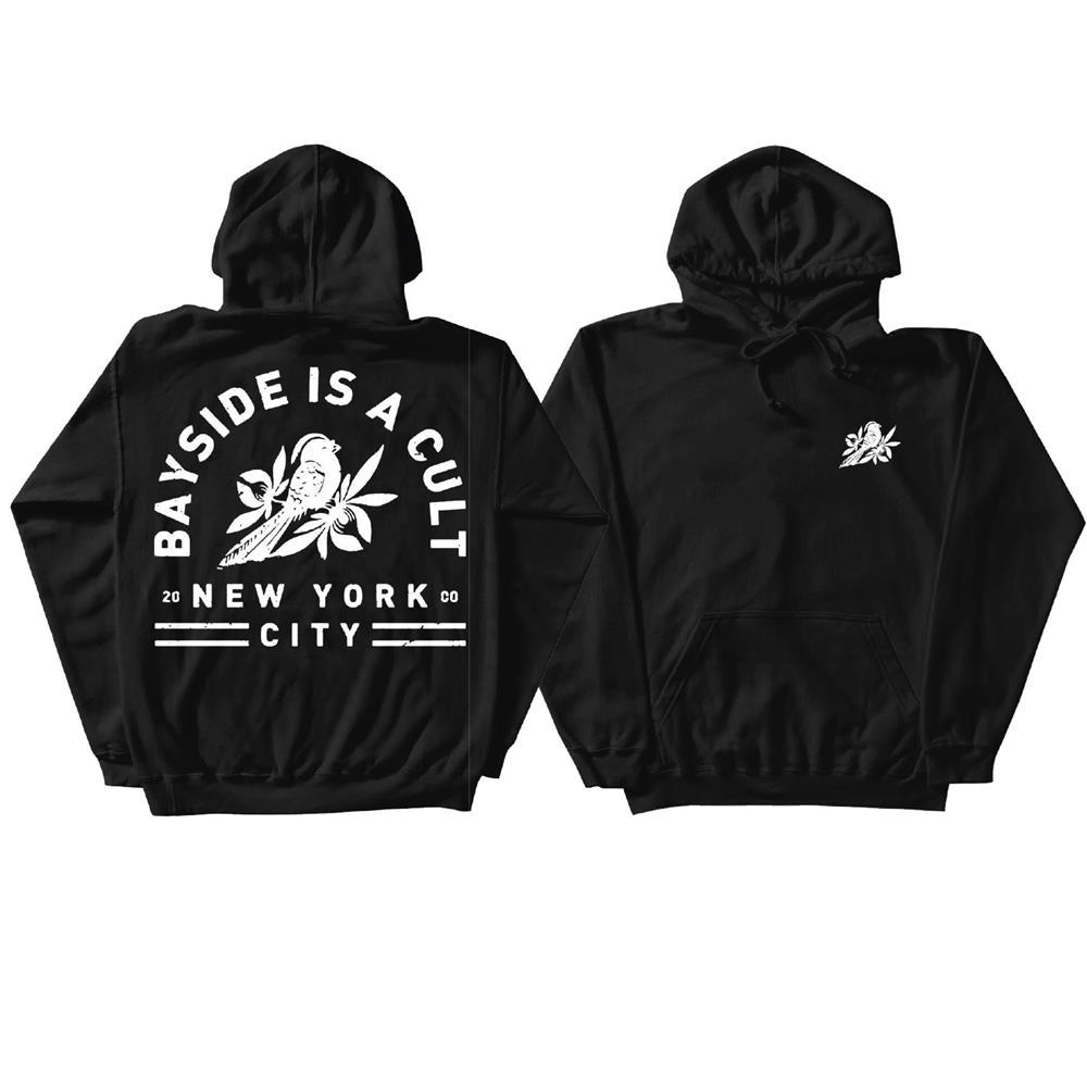 Bird Cult Hoodie Black