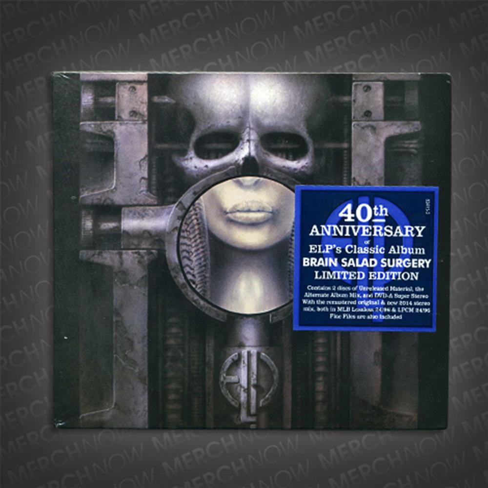 Brain Salad Surgery 40th Anniversary CD/DVD