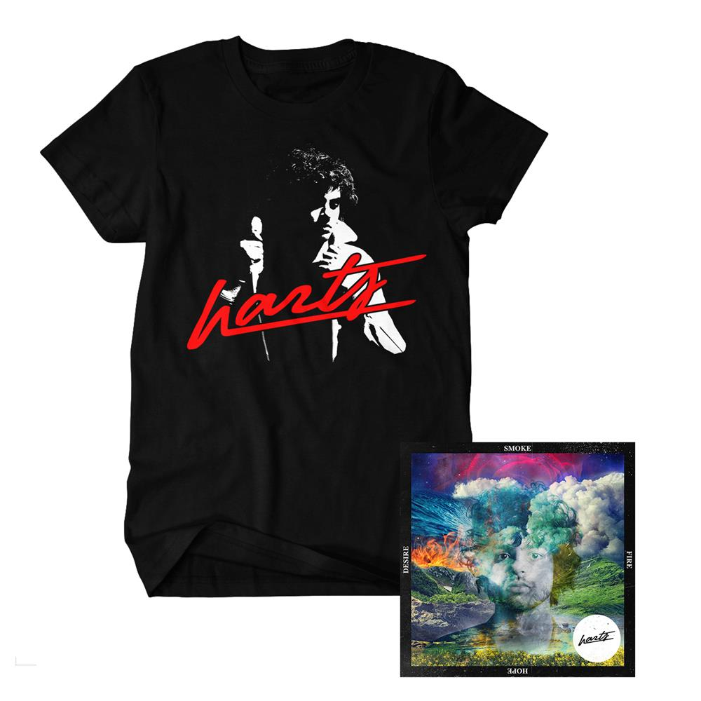 Smoke Fire Hope Desire CD/T-Shirt