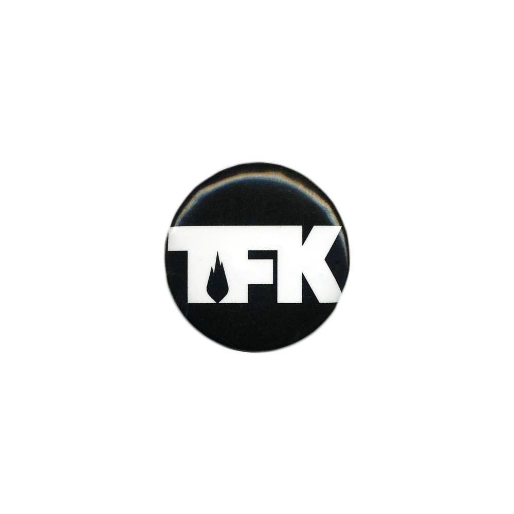 White Logo On Black