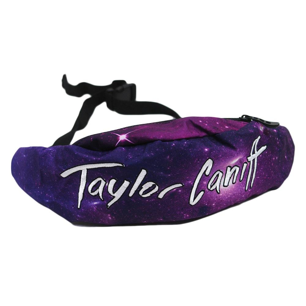 Galaxy Black Fanny Pack