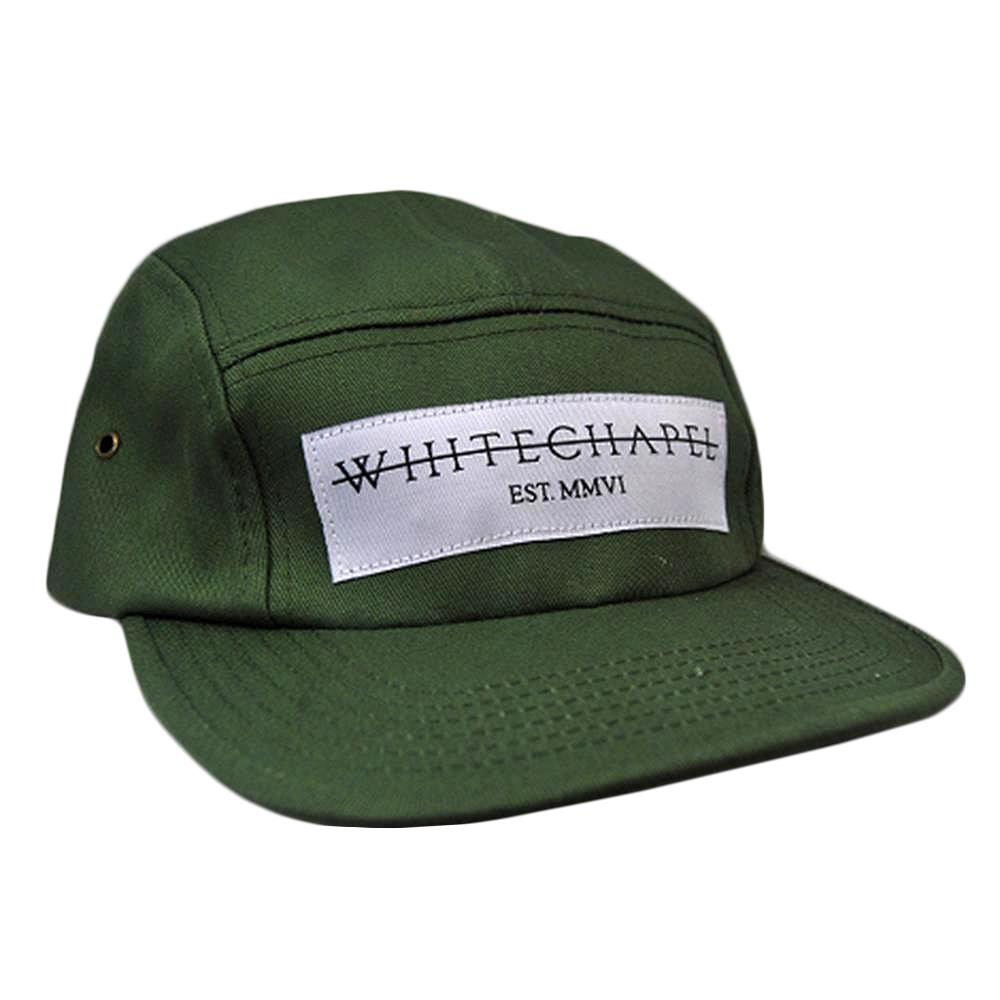 Strike Through Army Green 5 Panel