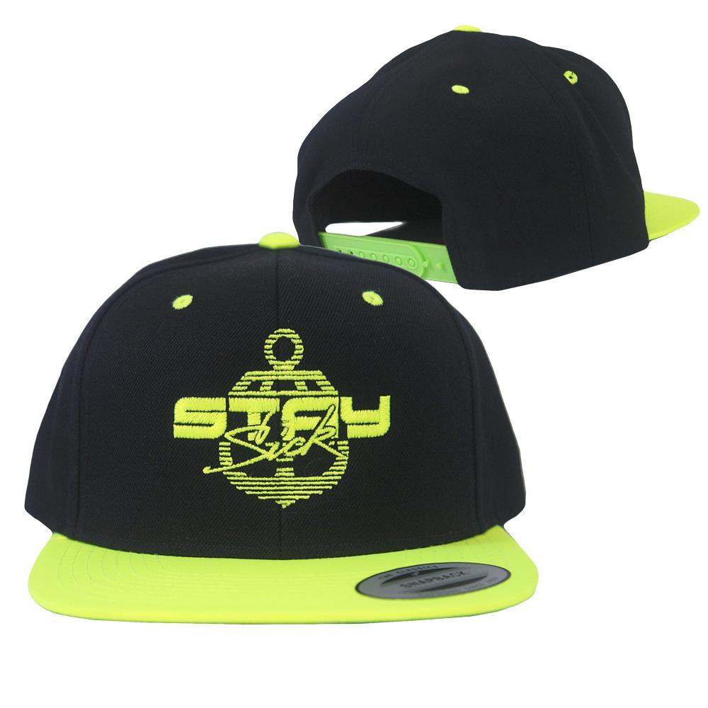 Neon Sport Custom Snapback Hat