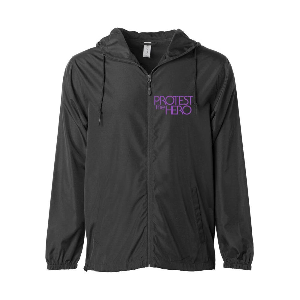 Logo Black Windbreaker