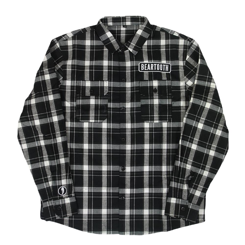 Custom Black/Grey Flannel Shirt