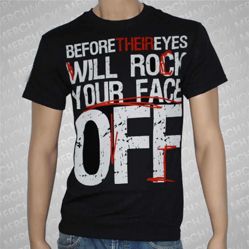 Rock Your Face Off Black **Sale! Final Print!**