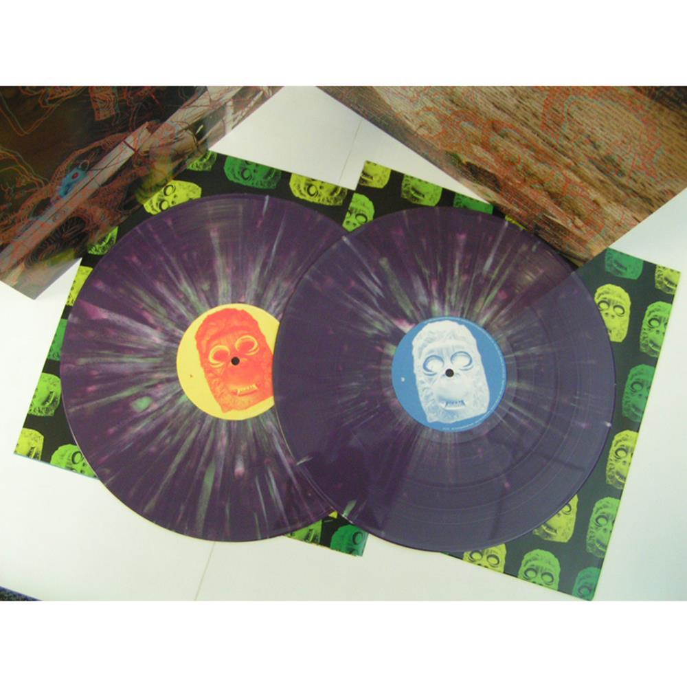 Censored Colors Purple Splatter Colored LP
