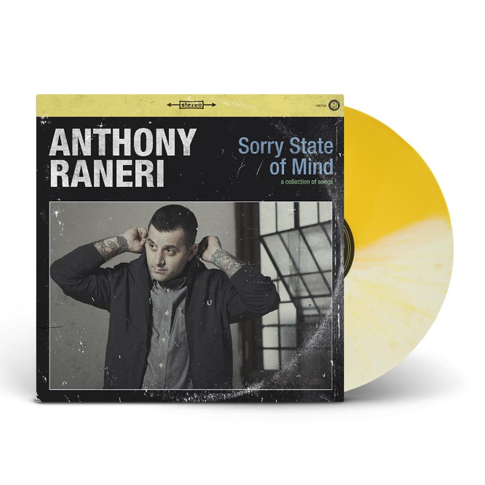 Sorry State Of Mind Half White & Half Yellow Splatter Vinyl LP