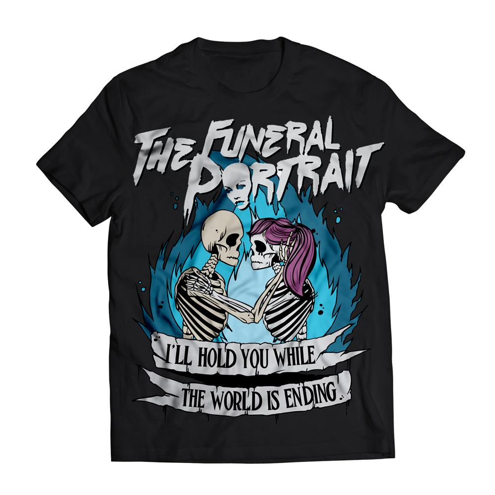 The Funeral Portrait I'll Hold You Black T-Shirt