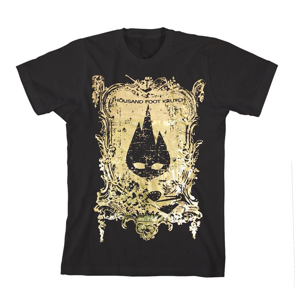 Flame Logo Gold Foil Black