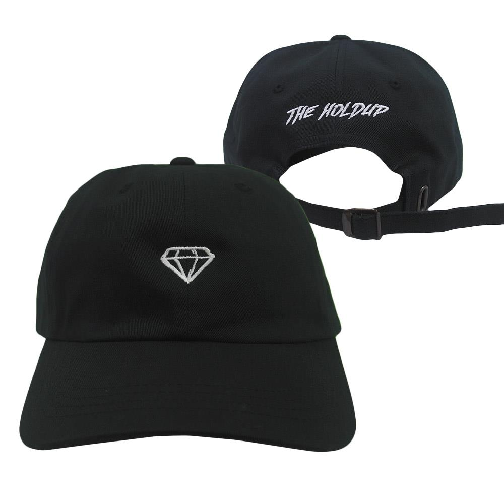 Diamond Logo Black Dad Hat