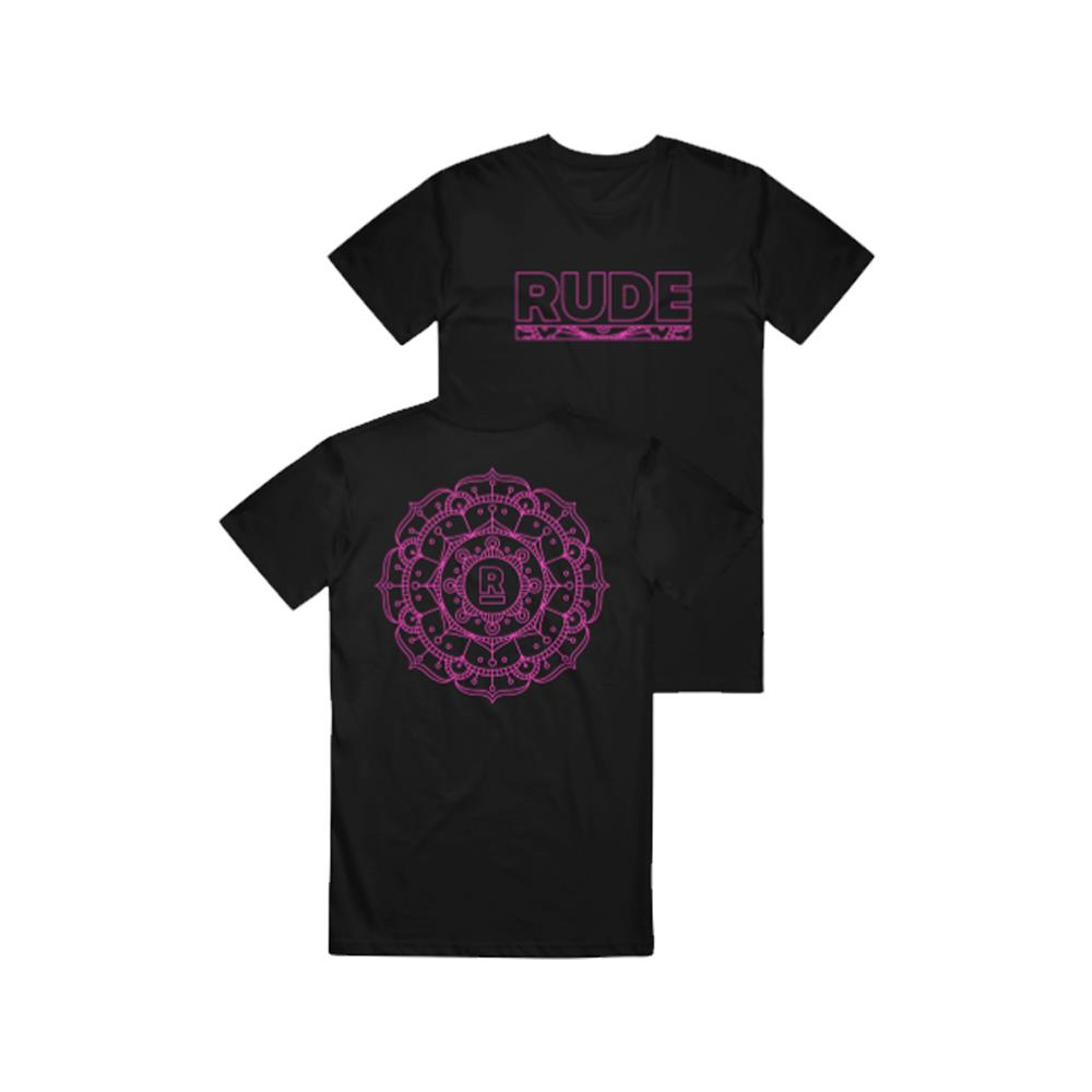 Label Merchandise Mandala Black