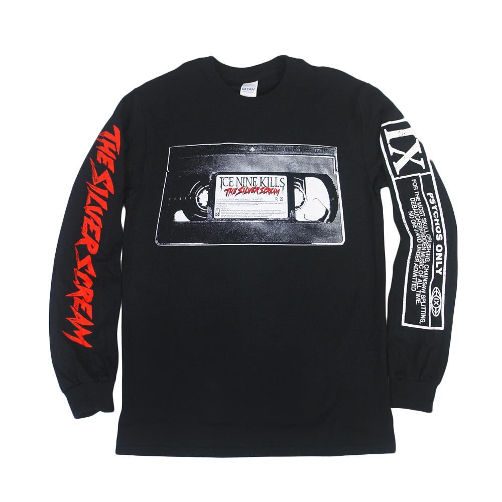 Video Cassette Tape Black
