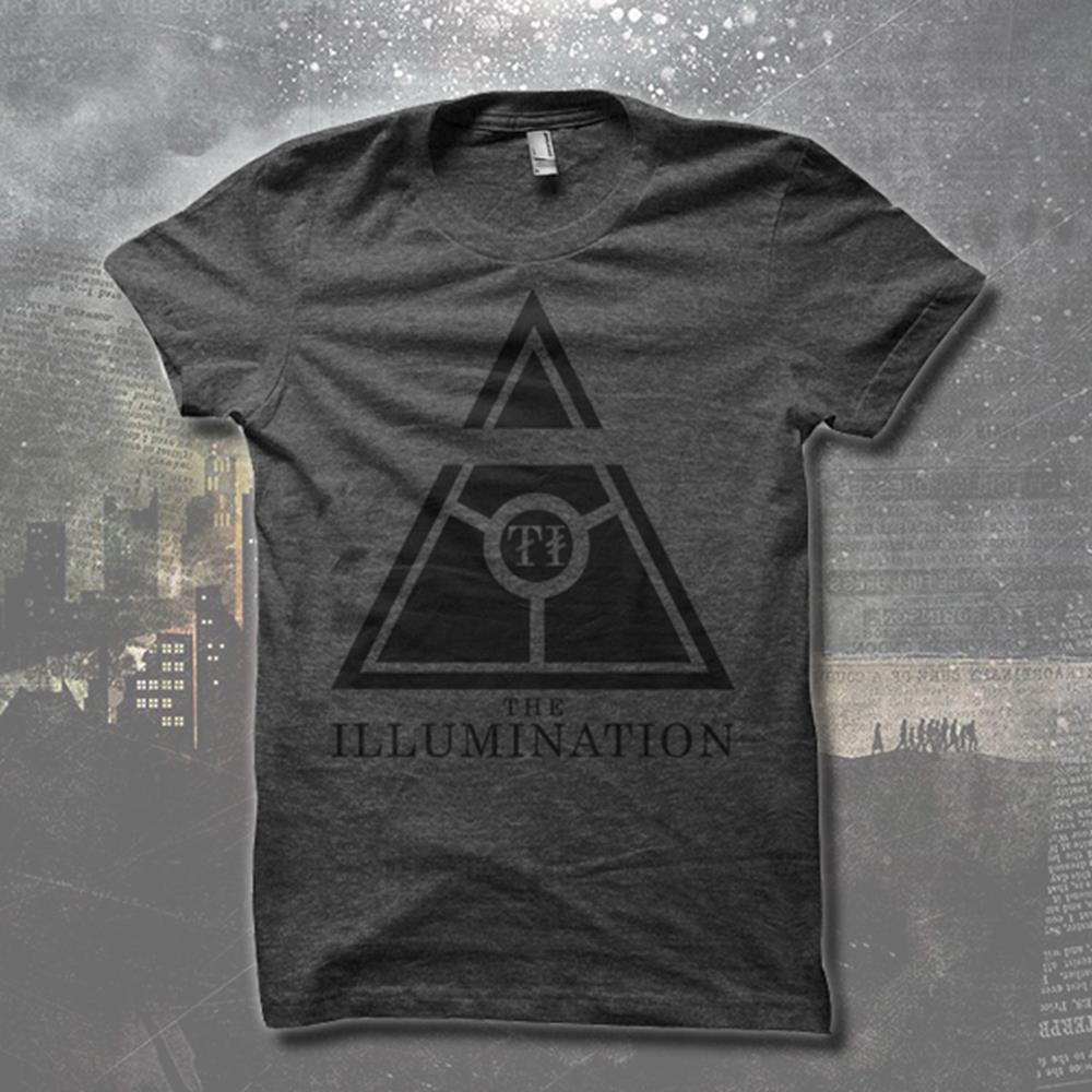 Black Triangle Charcoal T-Shirt