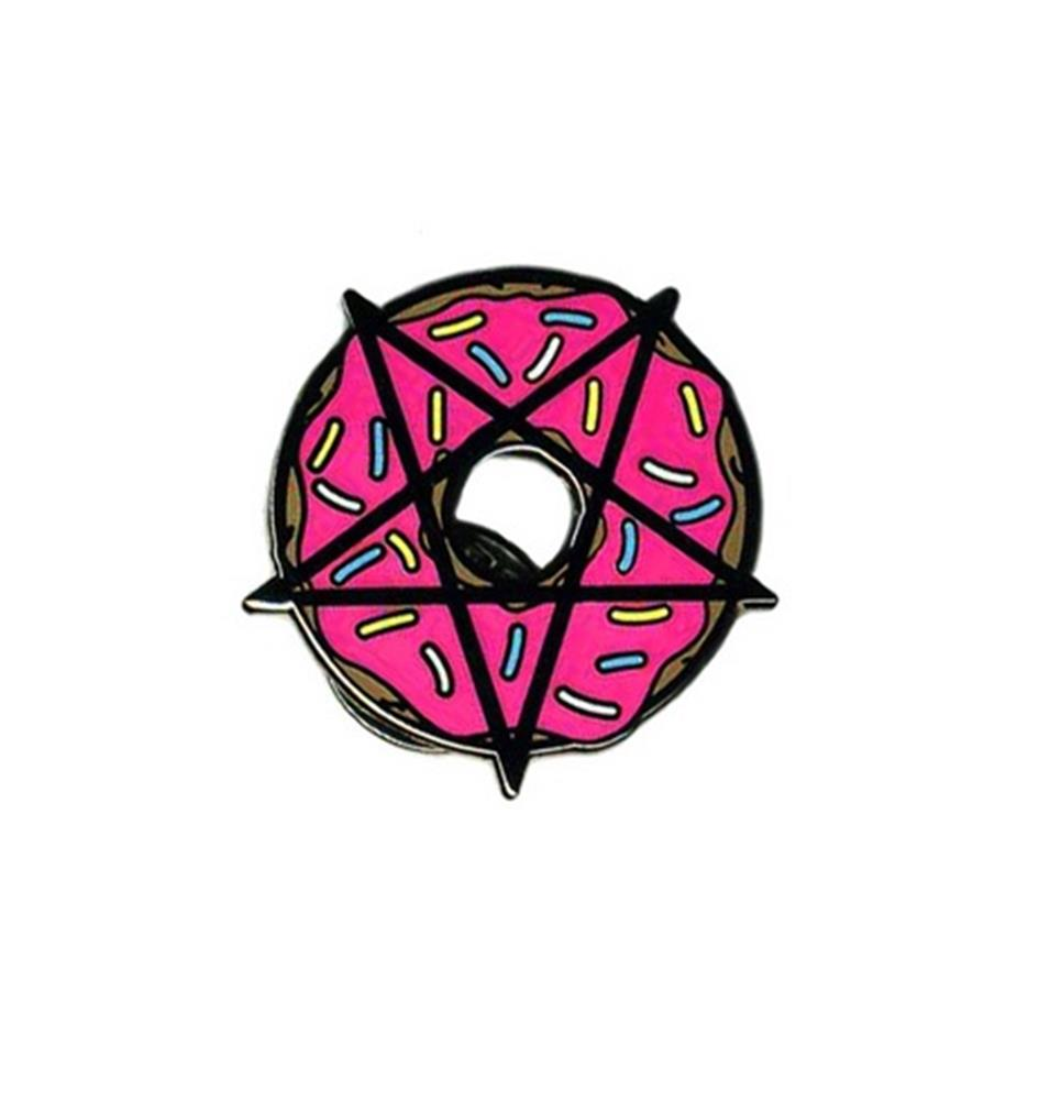 Hail Donut Pin