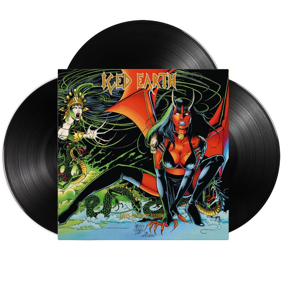 Days Of Purgatory Black Vinyl 3Xlp