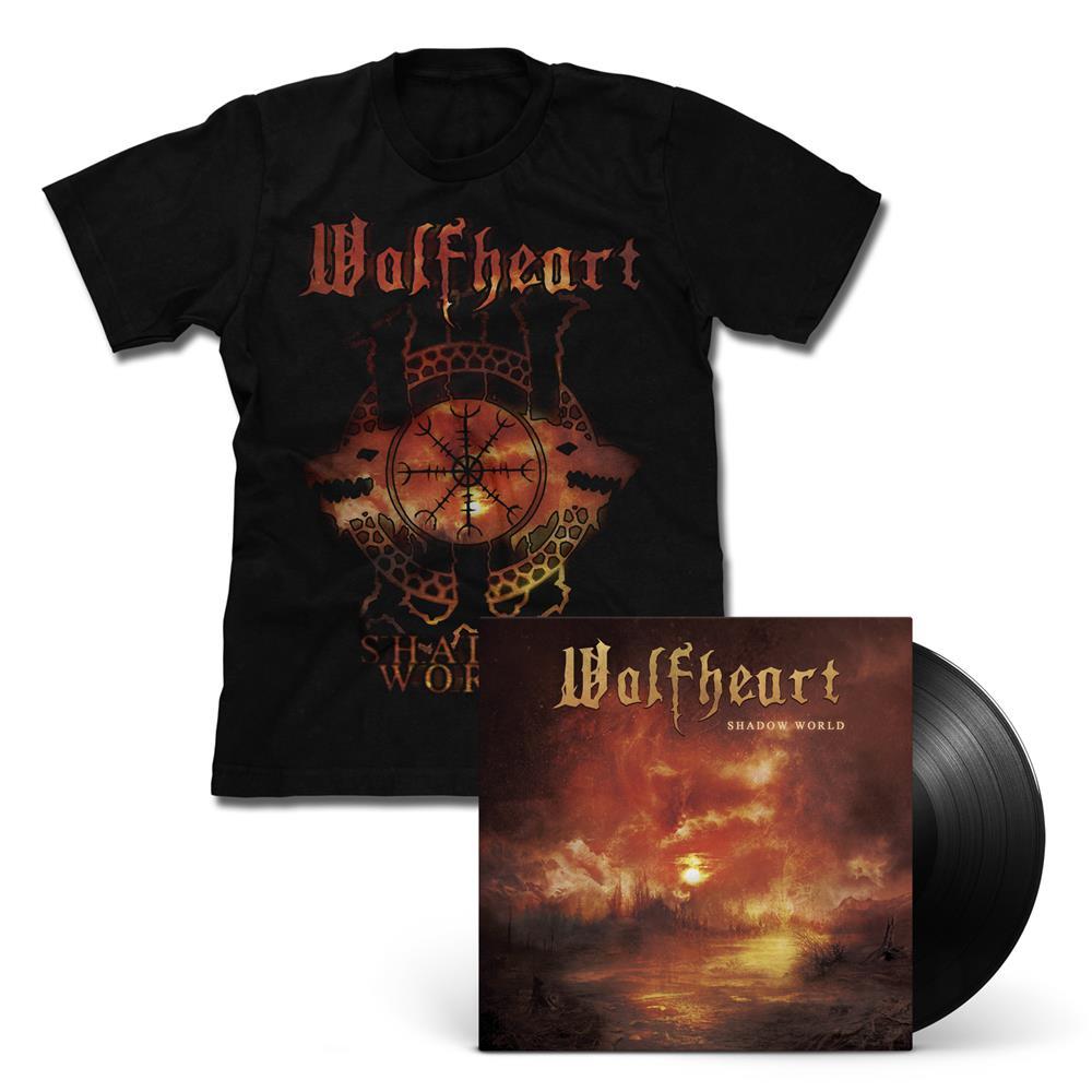 Wolfheart - Shadow World LP + T-Shirt Bundle