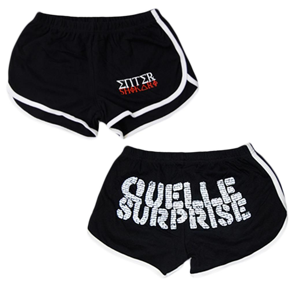 *Limited Stock* Surprise Black Booty Shorts