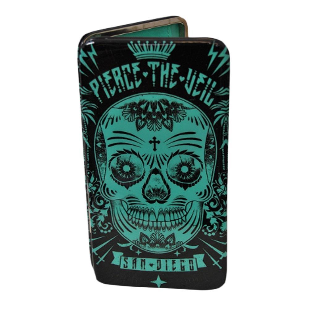 Skull Green Wallet