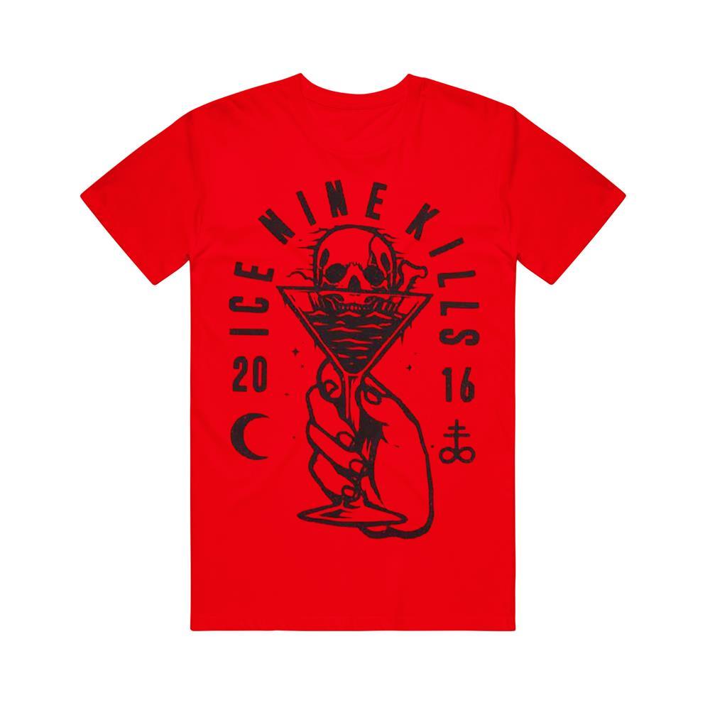 Skull Drink Red