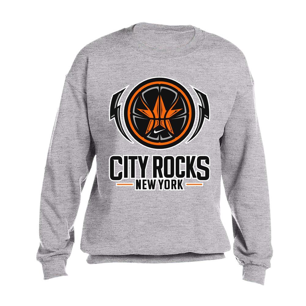 City Rocks NY Logo Grey